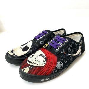Nightmare Before Christmas Jack Sally Sneakers